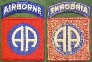 WW2 82nd Airborne Infantry Division Patch