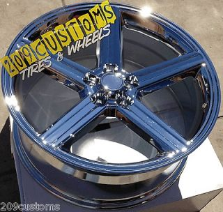 IROC WHEELS RIMS & TIRES 5X4.75 5X120.65 CAPRICE ADAPTERS INCLUDED