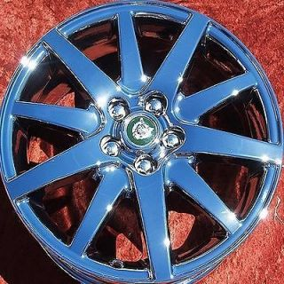 NEW 17 JAGUAR S TYPE OEM FACTORY CHROME WHEELS RIMS EXCHANGE 59699