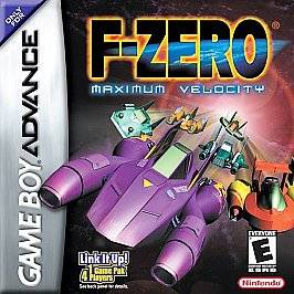 Zero Maximum Velocity Nintendo Game Boy Advance, 2001