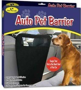 Pet Barrier Blocks Dogs Access To Auto Car Front Seats & Keep Dogs In