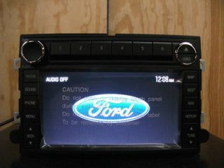 Ford factory GPS navigation 6 disc CD  radio 07 08 09 8F9T 18K931