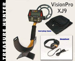 NEW TREASURE HUNTER XJ9 XPERT METAL DETECTORS