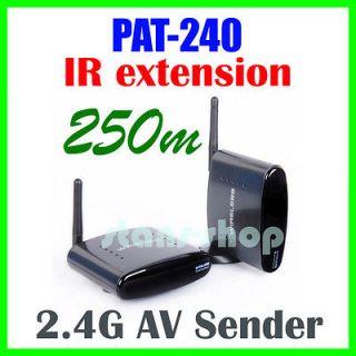 PAT 240 2.4GHz Wireless AV Sender TV Audio Video Transmitter Receiver