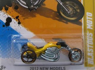 2012 041 BLASTOUS MOTO HOTWHEELS NEW MODEL THREE WHEELS CYCLE BIKE HOT