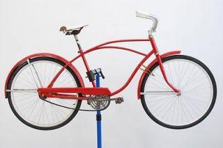 Vintage Hawthorne Mens Cruiser City Bicycle Bike Steel 17 Frame