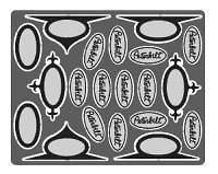 24 1/25 Peterbilt Big Rig Emblems 2202 (Photo Etched)