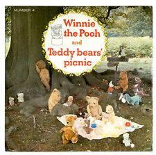 Childrens Single   Winnie The Pooh / Teddy Bears Picnic   7 Vinyl
