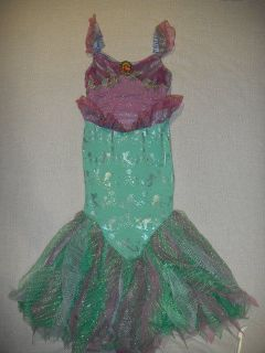Authentic  Princess Ariel Mermaid Costume Dress size xxs 2