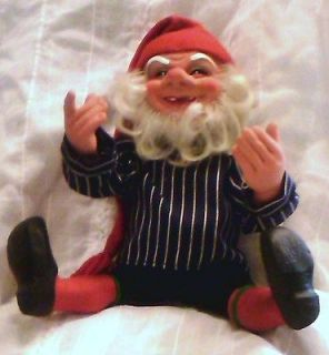 Vintage Arne Hasle Gnome Troll Elf Nisse Doll Norge Norway Latex 14