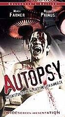 Autopsy VHS, 2000, Widescreen   Clamshell