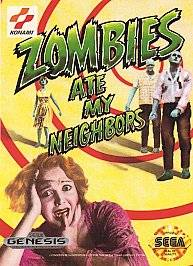 Zombies Ate My Neighbors Sega Genesis, 1993