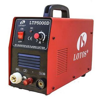 Powerful 50 Amp Pilot Arc Plasma Cutter 1/2 Clean Cut Easily & CNC