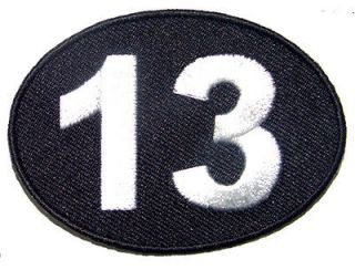 13 Thirteen Motorcycle Club MC Fun Embroidered Quality NEW Biker Patch