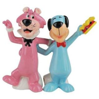 Huckleberry Hound & Snagglepuss Salt & Pepper Shaker Set Hanna Barbera