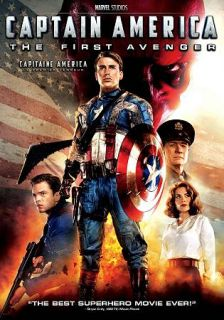 Captain America The First Avenger DVD, 2011, Canadian