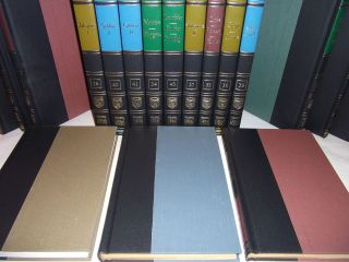 GREAT BOOKS OF THE WESTERN WORLD  54 BOOK SET  BRITANNICA 1989  FINE