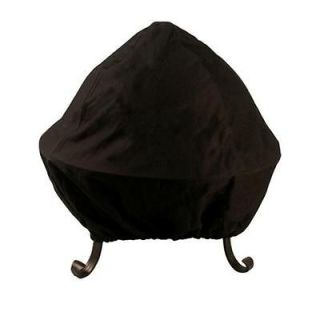 Asia Direct40 in. Vinyl Fire Pit Cover for Fire Pits with Easy Access
