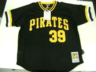Ness MLB Pittsburgh Pirates Dave Parker Jersey Authentic Collection