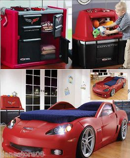 Cars Bedroom On Race Car 3pc Bedroom Set Bed Converts Todder To Twin