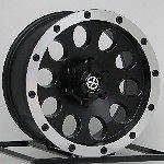 Black Wheels Rims Chevy Truck Silverado 1500 Tahoe Suburban 6 Lug ATX