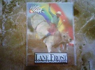 1996 HIGH GEAR LANE FROST COMMEMORATIVE LF2 INSERT HARD TO FIND THESE