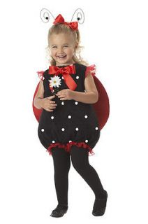 Brand New Little Lil Lady Bug Toddler Infant Halloween Costume