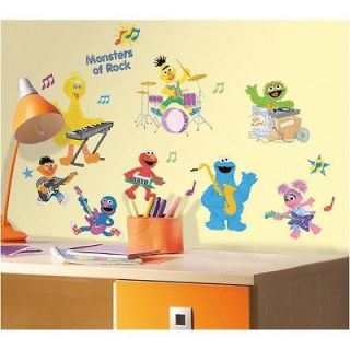 STREET ROCK & ROLL WALL DECALS Kids & Baby Nursery Stickers Decor