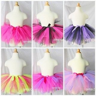 WHOLESALE LOT OF 6 Baby Girls PINK PURPLE BLACK LIME Birthday Party