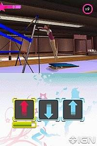 Shawn Johnson Gymnastics Nintendo DS, 2010