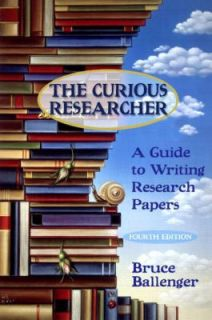 Research Papers by Bruce P. Ballenger 2003, Paperback, Revised