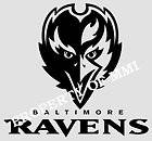 Baltimore RAVENS Style#5 Vinyl Decal Window Car Wall Truck Man Cave