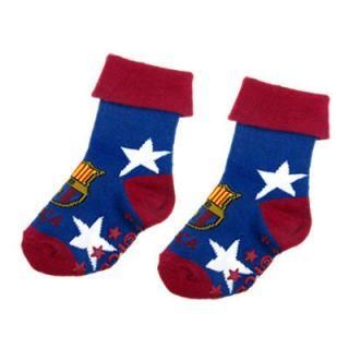 FC Barcelona Football Club Crest Infants Socks Size 5 6 with Free UK P