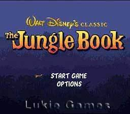 DISNEYS JUNGLE BOOK   SNES Super Nintendo Game