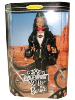 Harley Davidson Collector Edition 4 2000 Barbie Doll