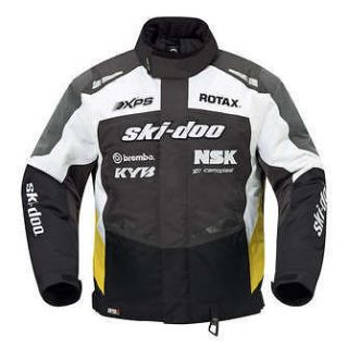 SKI DOO WOMENS X TEAM WINTER JACKET RACE EDITION 2013 CHARCOAL GRAY