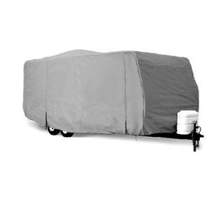 Deluxe 4 Layer Travel Trailer Camper Cover Fits 25 26L W/ Zipper