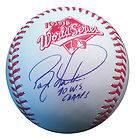 Barry Larkin Signed Cincinnati Reds 1990 World Series Rawlings