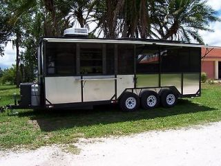 creek bbq concession trailer with ts250 smoker pit cooker a real bbq