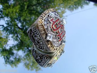2006 St Louis Cardinals World Series Championship Ring Edmonds not