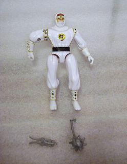Bandai MMPR Mighty Morphin Power Rangers White Ninja Ranger 100%