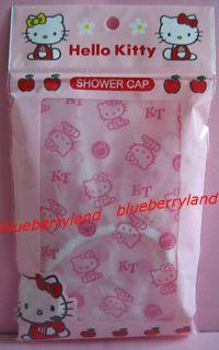 Kitty Shower cap hat for adult children kid bathroom bath accessory