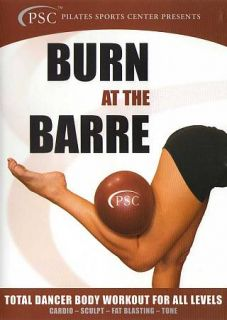 Burn at the Barre Total Dancer Body Workout for All Levels DVD, 2012