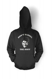the Hoff David Knight Rider Baywatch Burger Funny Hoodie Sweatshirt