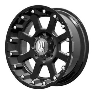 18x10 KMC XD Strike Black Wheel/Rim(s) 8x165.1 8 165.1 8x6.5 18 10