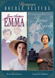 Romance Double Feature Emma Jane Eyre DVD, 2009, 2 Disc Set