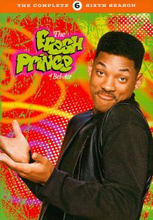 The Fresh Prince of Bel Air The Complete Sixth Season DVD, 2011, 3