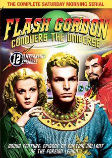 Flash Gordon Conquers the Universe DVD, 2007, Bonus Feature