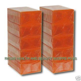 ( Derm Options ) Papaya Kojic Soap Whitening BELO 90g new packing