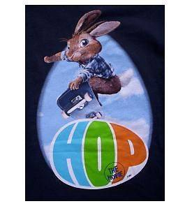 HOP The Movie E.B. Boys Navy Blue Shirt sz 4/5 xs NeW Easter FREE